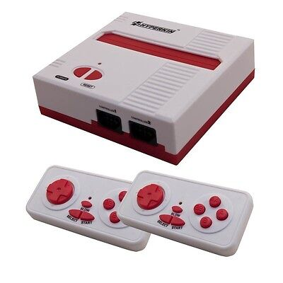 Retron 1 Nes System Nintendo Fc Game Console 8 Bit Top Loader   Red White