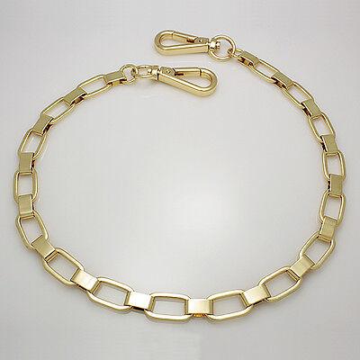 "handbag chain strap Gold 11mm x 125cm(50"") handle shoulder crossbody metal"