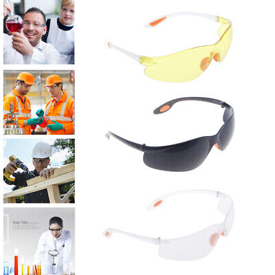 Eye Protection Safety Protective Riding Goggles Glasses Work Lab Dental