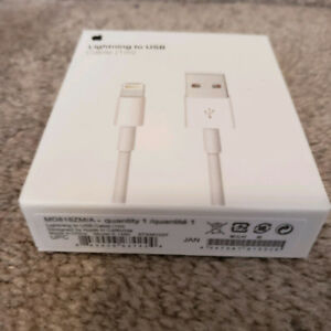 BRAND NEW Original Lightning Apple Cable for iPhone 8/X/7/6/5s/5