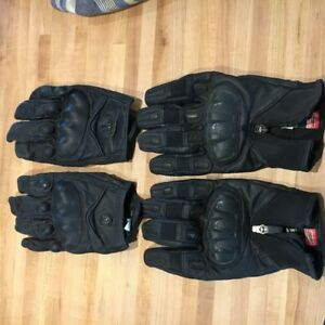 Motorcycle Gloves 2 pairs