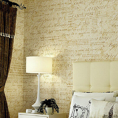Flock Words Textured Letters Modern Wallpaper Simple Embossed Desktop Wall Paper