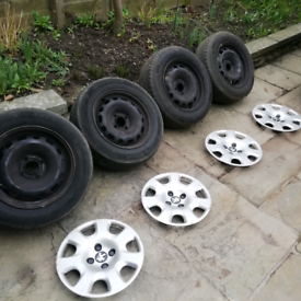 Citroen Peugeot Berlingo partner wheels and trims