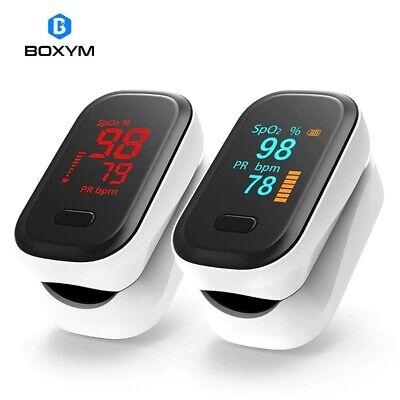 Boxym - Medical Portable Finger Pulse Oximeter - Blood Oxygen Heartrate