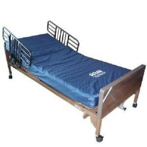 New & Used - Full Electric Hospital Bed :-With Mattress & Rails.