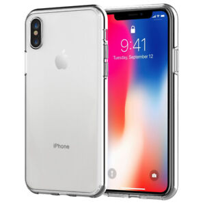iPhone X JETech Bumber Case - Clear