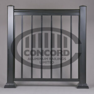Custom Aluminum Railings Manufacturer