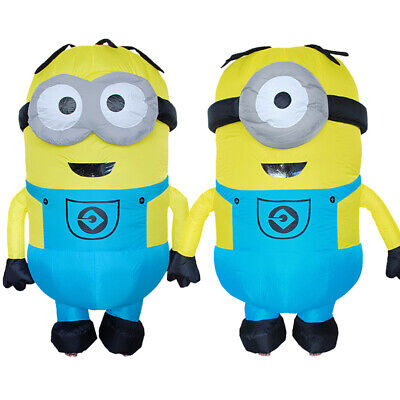 Inflatable Minion/Baymax Costume Halloween Costumes for Adults Minion Mascot](Minion Halloween Costume Adults)