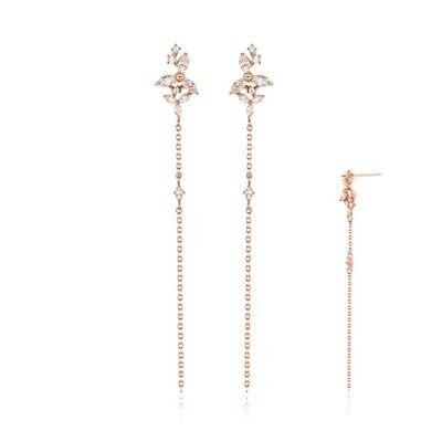 STONE HENGE Silver925 Flower Haeorabi Drop Earrings SC1102 with Case K-beauty