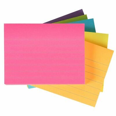 Sticky Notes - 6 Pads Lined Self-stick Notes 100 Sheets Per Pad Memo Notes