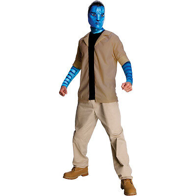 Avatar Movie Jake Sully Deluxe Adult Costume SIZE XL 44-46 Halloween Comic Con - Sully Costume For Men