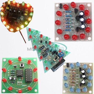 Interest Christmas Diy Led Kits Electronic Production Funny Diy Birthday Gift