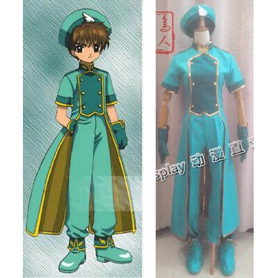 Takara Card Captor Sakura Deformed Series Figure Li Syaoran Uniform ver