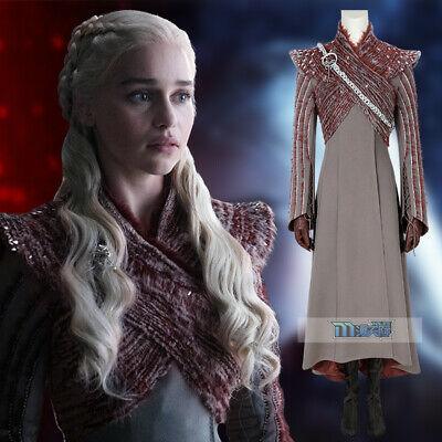 Game of Thrones Season 8 Daenerys Targaryen Cosplay Kostüm Outfit Costume Film 2