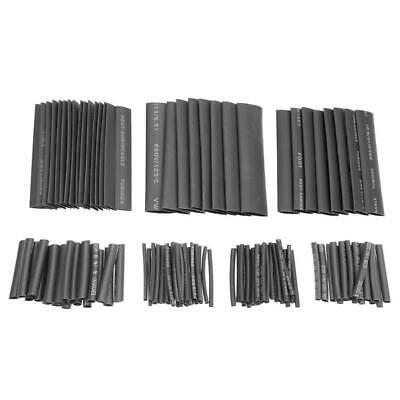 127pcs Heat Shrink Tubing Shrinkable Wrap Wire Cable Sleeve Fitting Insulation A