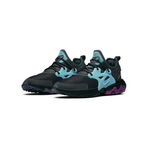Nike React Presto (GS) Running Shoes Thunder Violet Aurora BQ4002-011 Youth NEW