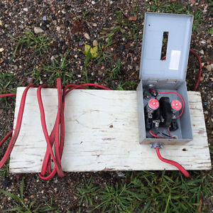 Safety interruption switch for 40 amps $10