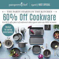 Pampered chef has amazing Mother's Day Presents.