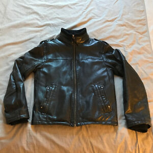 Danier Mens Leather Coat Jacket - $70 OBO