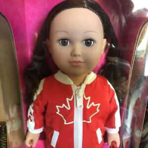 """My Life 18"""" Canada Day Doll - New in package"""