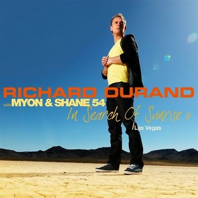Richard With Myon   Shane 54 Durand   In Search Of Sunrise 11 Las Vegas 3 Cd New