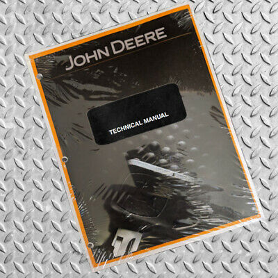 John Deere 8875 Skid Steer Technical Service Manual - Part Number Tm1566