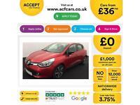 Renault Clio 1.5TD ( 90bhp ) ( MediaNav ) FROM £36 PER WEEK !