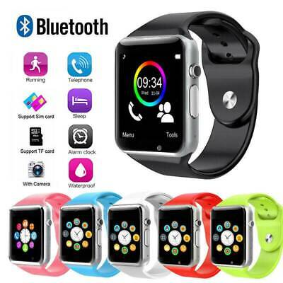 Bluetooth Smart Wrist Watch A1 w/Camera GSM Phone For iPhone Android Samsung - Smart Watch