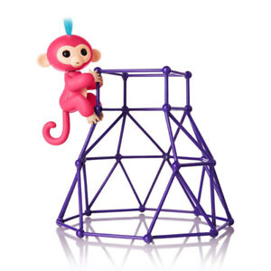 Brand New Fingerlings-Jungle Gym Playset + Interactive Baby Mo