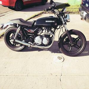 1979 Honda CB650 cafe roadster project