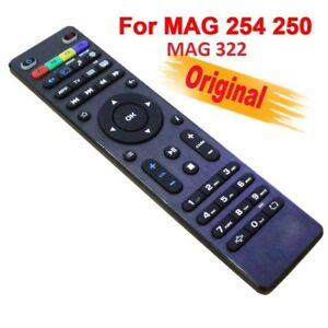 MAG 250/254/256/322 BLACK ORIGNAL REMOTE CONTROL FOR IPTV - $20