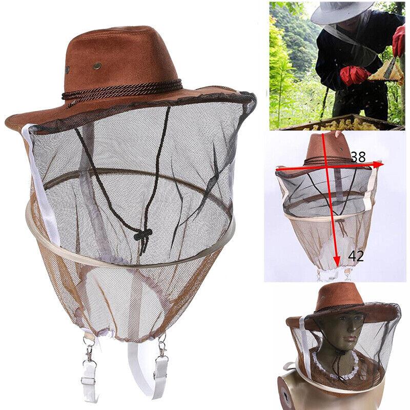 Für Beekeepers Schutzanzug Schleier Jacke Handschuhe Imker Imkerei Hut Zubehör