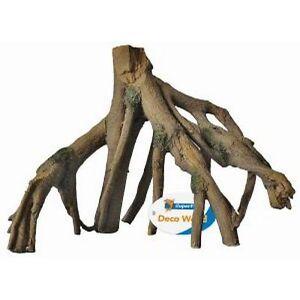 Mangrove Root Aquarium Ornament Reptile Terrarium Wood Tree Roots Decoration