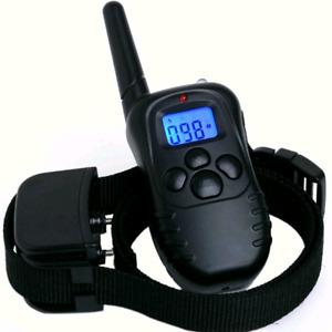 E-collar training bark remote hundred levels