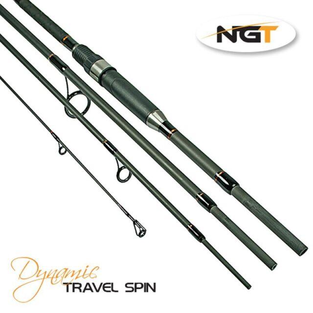 Dynamic Travel Spinning Rod Carbon 2,40m 4pcs Transport Length 68cm