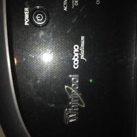 Whirlpool Cabrio platinum washer and dryer