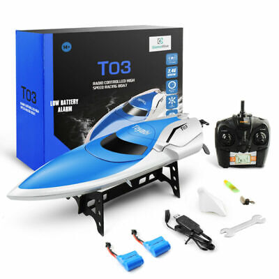 Remote Control Boats Toys for Pools and Lakes 2.4G RC Watercraft for Kids/Adults - Rc Toys For Adults