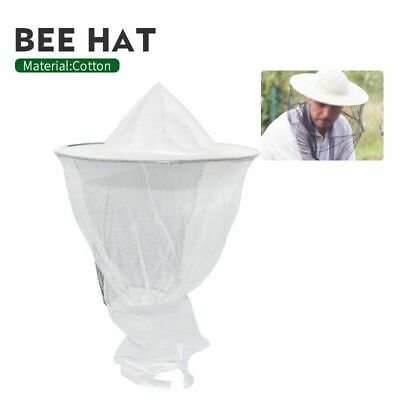 Beekeeping Hat Mosquito Bee Insect Net Veil Hat Face Head Neck Wrap Protector B