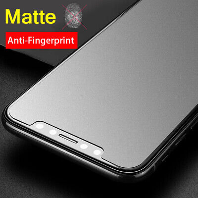 2X Dooqi Matte Frost Tempered Glass Screen Protector For Apple iPhone XS MAX