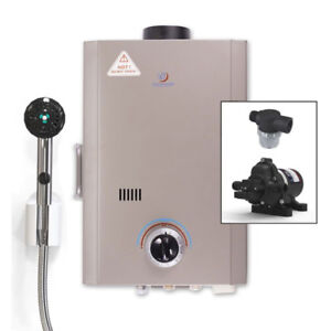 Eccotemp L7 Tankless Water Heater Bundle (12v Eccoflo Pump)