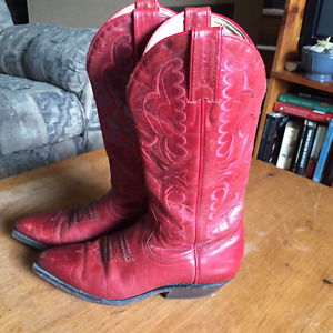 Boulet Western Boots real leather