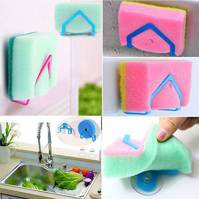 2Pcs Convenient Holder Suction Cup Sink Holder Kitchen Tools Gadgets Handy Set Handy Kitchen Gadgets