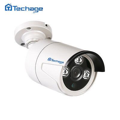 Techage 720P AHD Analog CCTV Camera Outdoor IP66 Home Security Surveillance