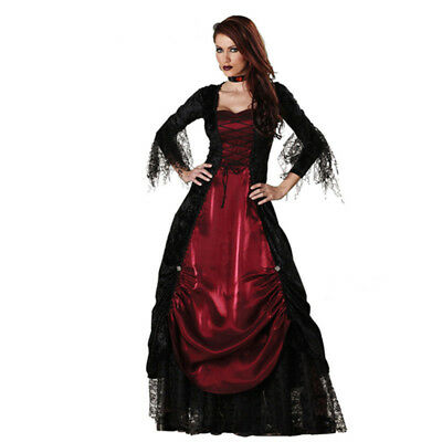 Womens Vampire Costume for Halloween Costume Party -