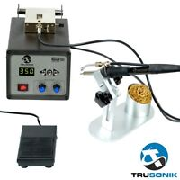 NEW Auto Self-Feeding Digital Soldering Station Electronics Iron