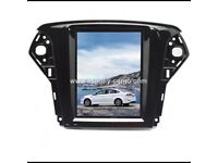 10.4'' Tesla Style Vertical HD Screen Android 6.0 Car GPS Navigation For Ford Mondeo 2007-2012