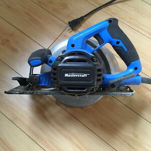 AWESOME CONDITION Mastercraft Corded Circular Saw