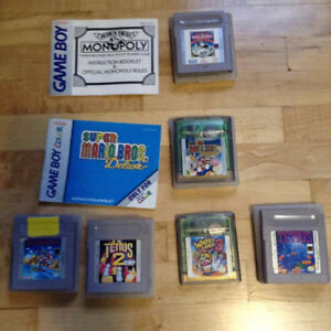 Game Boy Color Games AS IS