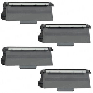 BROTHER TN750 NEW COMPATIBLE TONER 4 PACK