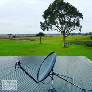 VAST - free to air tv received via satellite dish